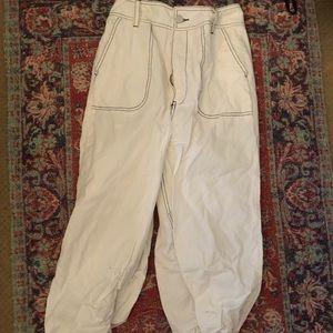 Pants - High waisted white pants
